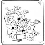 Personaggi di fumetti - 101 Dalmati 1