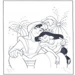 Personaggi di fumetti - Aladino dai fuochi artificiali
