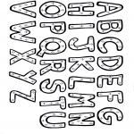 Disegni da colorare Vari temi - Alfabeta completo