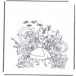 Personaggi di fumetti - Alice nel paese delle meraviglie