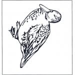 Disegni da colorare Animali - Anatra 4