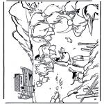 Disegni biblici da colorare - Arca di Noè 1