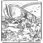 Disegni biblici da colorare - Arca di Noè 5