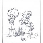 Personaggi di fumetti - Arthur e i Minimei 4