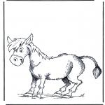 Disegni da colorare  Animali - Asino