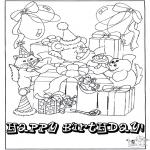 Disegni da colorare Temi - Auguri! 10