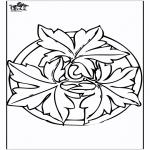 Disegni da colorare Mandala - Autunno - Mandala 2