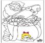 Babbo Natale - disegno 1