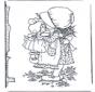 Bambina con bambola