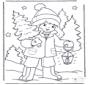 Bambino e albero di Natale 1
