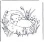 Bambino in cesta