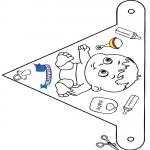 Lavori manuali - Bandiera Primavita