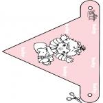 Disegni da colorare Temi - Bandierina per bebè 3