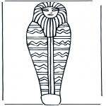 Disegni da colorare Vari temi - Bara del faraone