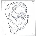 Disegni da colorare Temi - Bebè 1