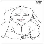 Disegni da colorare Temi - Bebè 15