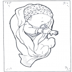 Disegni da colorare Temi - Bebè 2