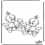 Disegni da colorare Temi - Bebè 5