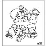 Disegni da colorare Temi - Bebè 9