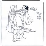 Personaggi di fumetti - Biancaneve 4