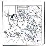 Personaggi di fumetti - Biancaneve 6