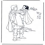Personaggi di fumetti - Biancaneve 9