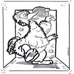 Disegni per i piccini - Big Bird