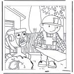 Disegni per i piccini - Bob the Builder 1