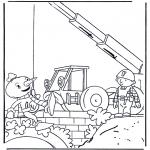 Disegni per i piccini - Bob the Builder 3