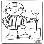 Disegni per i piccini - Bob the Builder 5