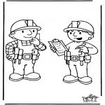 Disegni per i piccini - Bob the Builder 6