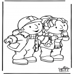 Disegni per i piccini - Bob the Builder 8