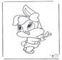 Bugs Bunny bebè