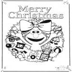 Disegni da colorare Natale - Buon Natale