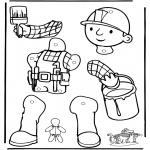Lavori manuali - Burattino Bob Aggiustatutto 1