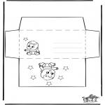 Lavori manuali - Busta bebè