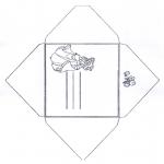 Lavori manuali - Busta Cenerentola 1