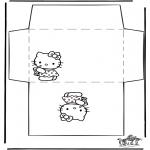 Lavori manuali - Busta - Hello Kitty