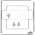 Lavori manuali - Busta - Ragazza