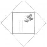 Lavori manuali - Busta unicorno