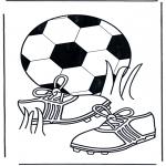 Disegni da colorare Vari temi - Calcio 5