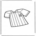 Disegni da colorare Vari temi - Calcio 7