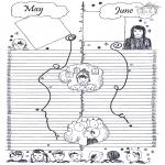 Lavori manuali - Calendario: parte 3