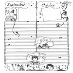 Lavori manuali - Calendario: parte 5