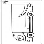 Disegni da colorare Vari temi - Camion 2