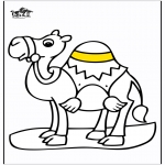 Disegni da colorare Animali - Cammello 2