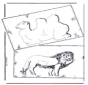 Cammello e leone