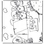 Disegni da colorare Vari temi - Campeggio 2