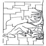 Disegni da colorare Animali - Canguro