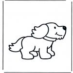 Disegni da colorare  Animali - Cani 1